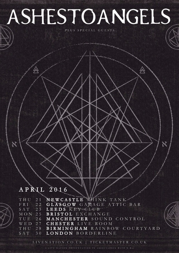 April Headline Tour