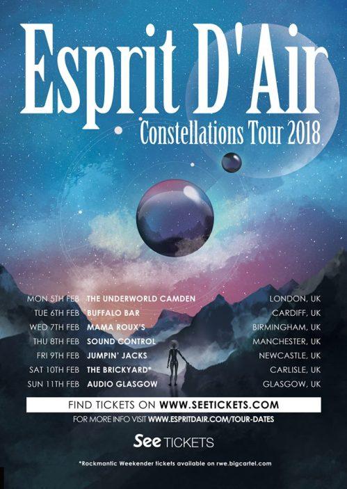 ESPRIT tour